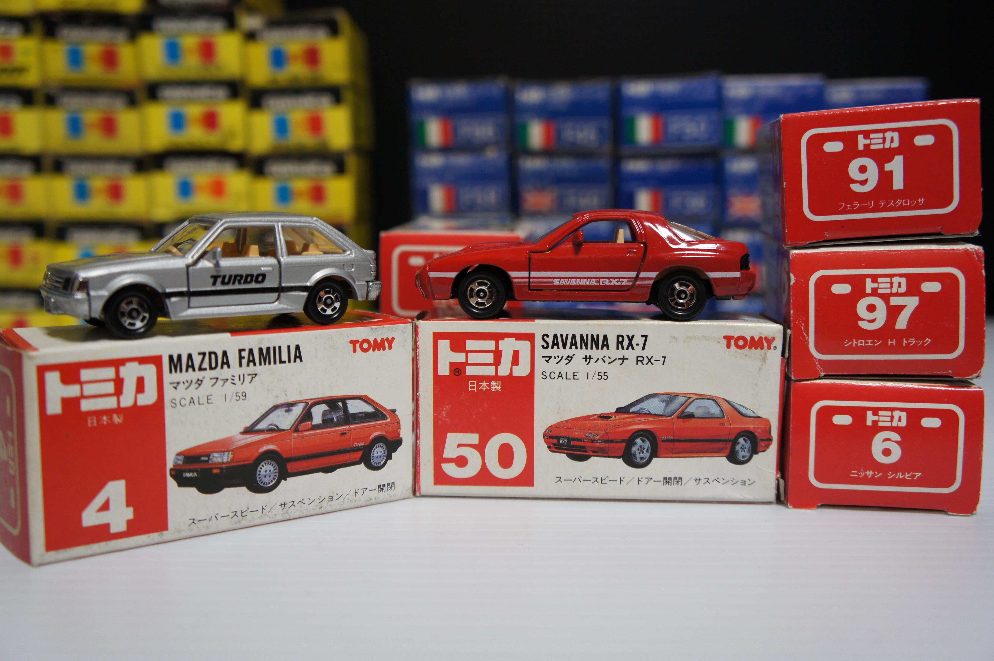 日本製 赤箱 トミカ