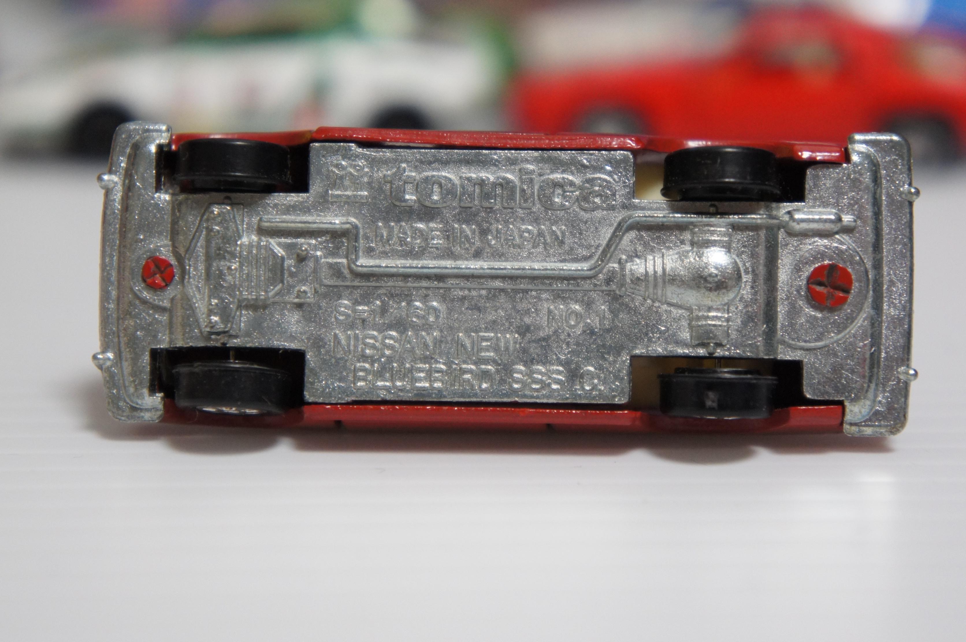 トミカ 車体裏 刻印 日本製