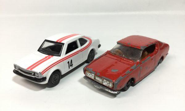 アポロ ブルーバードU  1970年代のミニカー2