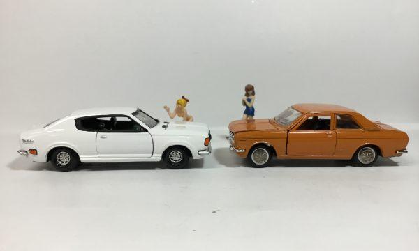 不運の610ブルーバード ミニカー 2