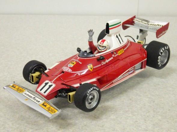エグゾト 1/18 フェラーリ 312T #11 グランプリ クラシック