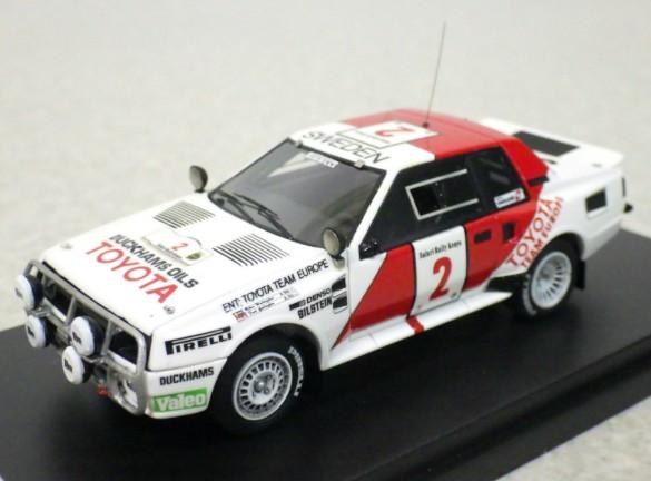 hpi racing 1/43 トヨタ セリカ ツインカム ターボ サファリ 1986 #2
