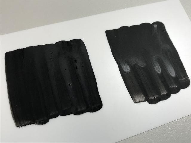 エナメル塗料筆塗り