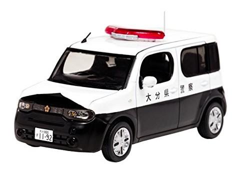 RAI'S 1/43 日産 キューブ (Z12) 2012 大分県警察所轄署小型警ら車両