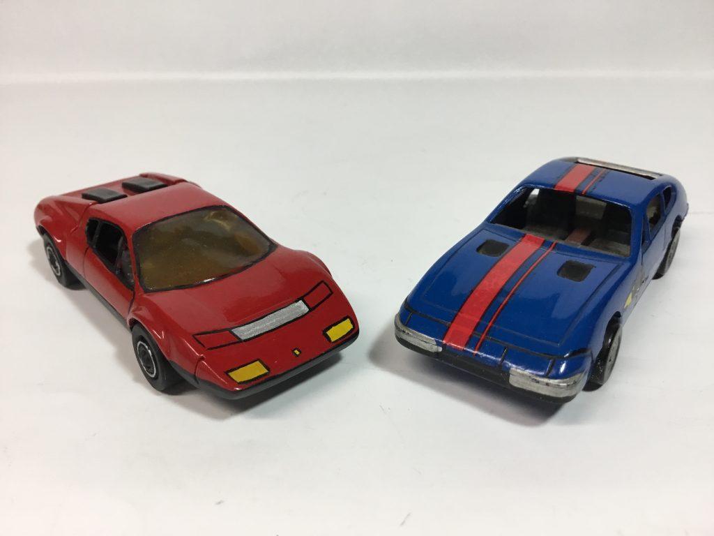 アオシマ  フェラーリ 512BB、365 GTB4 デイトナ